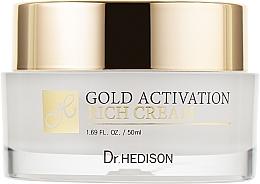 Духи, Парфюмерия, косметика Крем с коллоидным золотом - Dr.Hedison Gold Activation Rich Cream