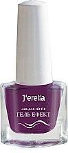 Духи, Парфюмерия, косметика Лак для ногтей «Гель-эффект» - J'erelia