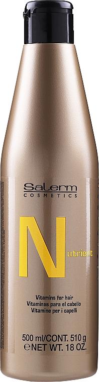 Шампунь против выпадения волос - Salerm Nutrient Vitamins Hair Loss Shampoo