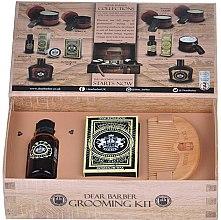 Духи, Парфюмерия, косметика Набор по уходу за бородой и усами - Dear Barber Collection III Beard Grooming Set (oil/30ml + wax/25ml + comb/1 шт.)