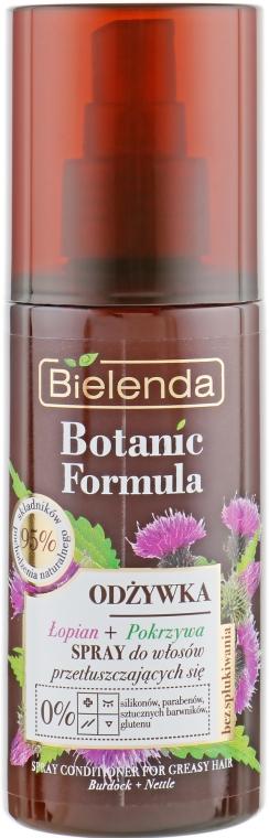 """Спрей для волос """"Крапива и лопух"""" - Bielenda Botanic Formula Burdock Nettle Spray Conditioner"""