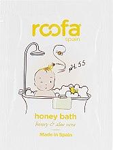 Духи, Парфюмерия, косметика Средство для ванны с медом - Roofa Honey Bath Gel (пробник)