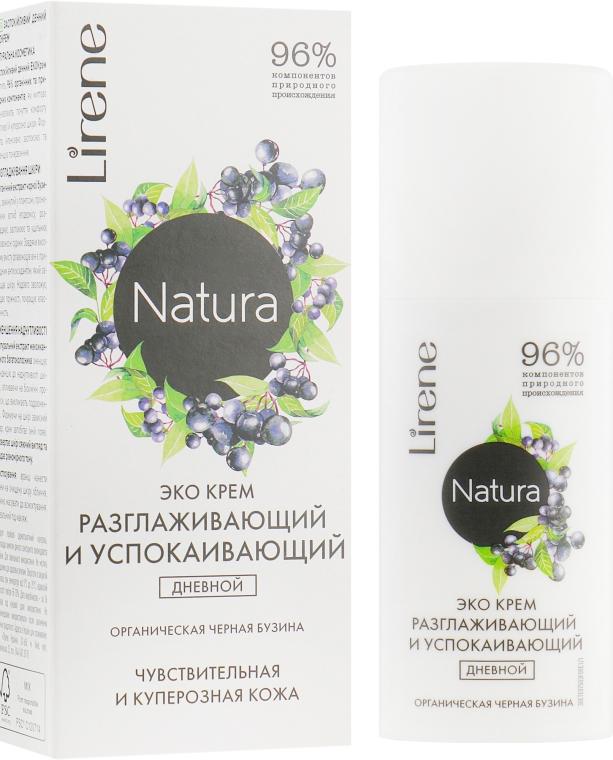 """Дневной крем для лица """"Бузина"""" - Lirene Natura Eco Cream"""