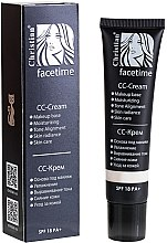 Парфумерія, косметика СС-крем для обличчя - Christian Facetime CC-Cream SPF18 PA+