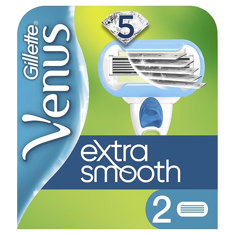 Сменные кассеты для бритья, 2 шт. - Gillette Venus Embrace