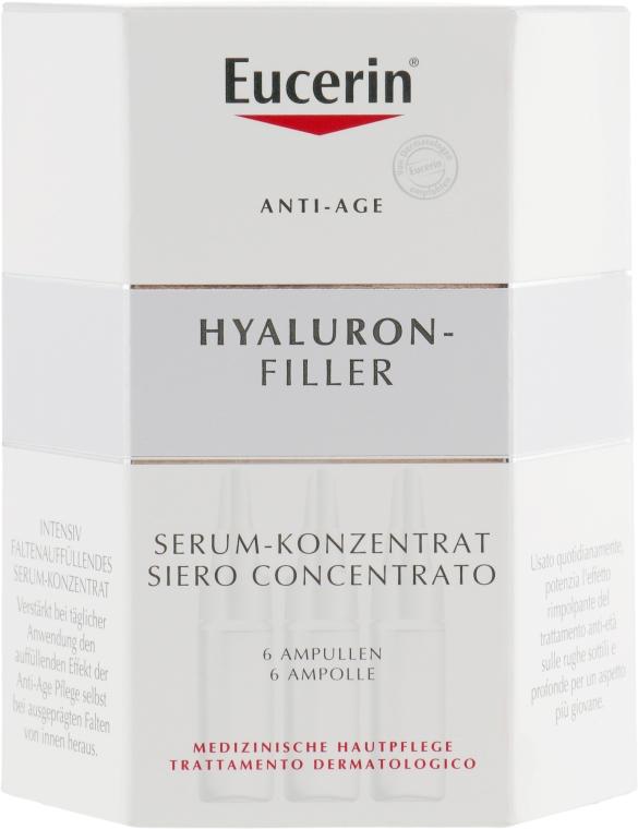 Ампулы с концентрированной гиалуроновой кислотой - Eucerin Hyaluron-Filler Concentrate — фото N3