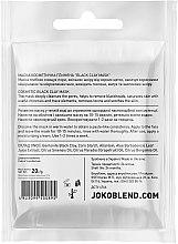 Черная глиняная маска для лица - Joko Blend Black Clay Mask — фото N2