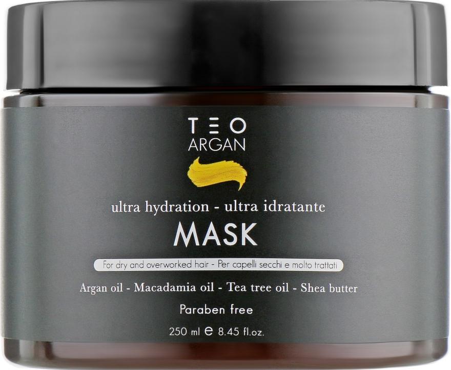 Маска для волос с аргановым маслом - Teotema Argan Mask