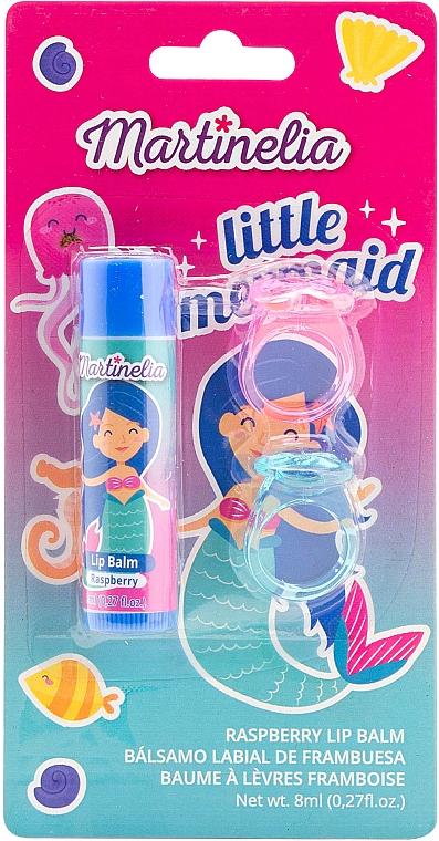 """Набор бальзам для губ и 2 кольца """"Little Mermaid"""" - Martinelia"""