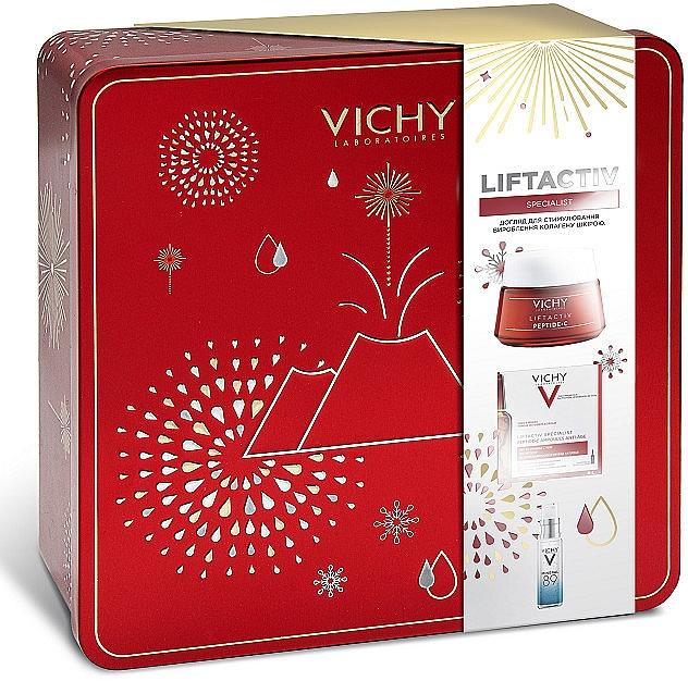 Набор для комплексного ухода за кожей - Vichy Liftactiv Specialist New Year (f/cr/50ml + f/amp/10x1.8ml + gel/4ml)