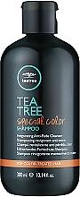 Духи, Парфюмерия, косметика Бодрящий шампунь для окрашенных волос - Paul Mitchell Tea Tree Special Color Shampoo