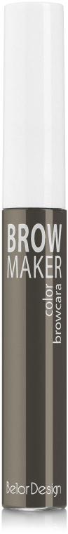 Тушь для бровей - Belor Design Brow Maker