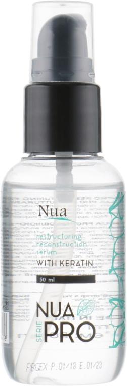 Восстанавливающая реконструирующая сыворотка - Nua Pro Reconstruction with Keratin Serum