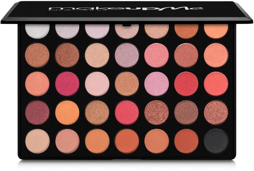 Профессиональная палитра теней 35 цветов, F35 - Make Up Me