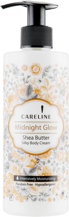 Шелковый крем для тела с маслом Ши - Careline Midnight Glow Shea Butter Silky Body Cream