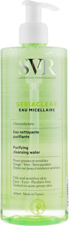 Очищающая мицеллярная вода - SVR Sebiaclear Purifying Cleansing Water