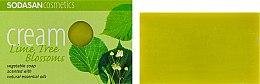"Духи, Парфюмерия, косметика Мыло-крем для лица ""Lime tree"" - Sodasan Cream Lime tree Soap"
