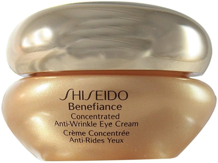 Концентрированный восстанавливающий крем от морщин вокруг глаз - Shiseido Benefiance Concentrated Anti-Wrinkle Eye Cream