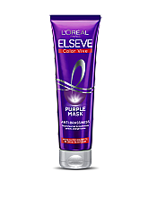 Парфумерія, косметика Тонувальна маска для освітленого, мелірованого і сріблястого волосся - L'Oréal Paris Elseve Purple