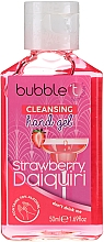 """Духи, Парфюмерия, косметика Антибактериальный очищающий гель для рук """"Клубничный дайкири"""" - Bubble T Cleansing Hand Gel Strawberry Daiquiri"""