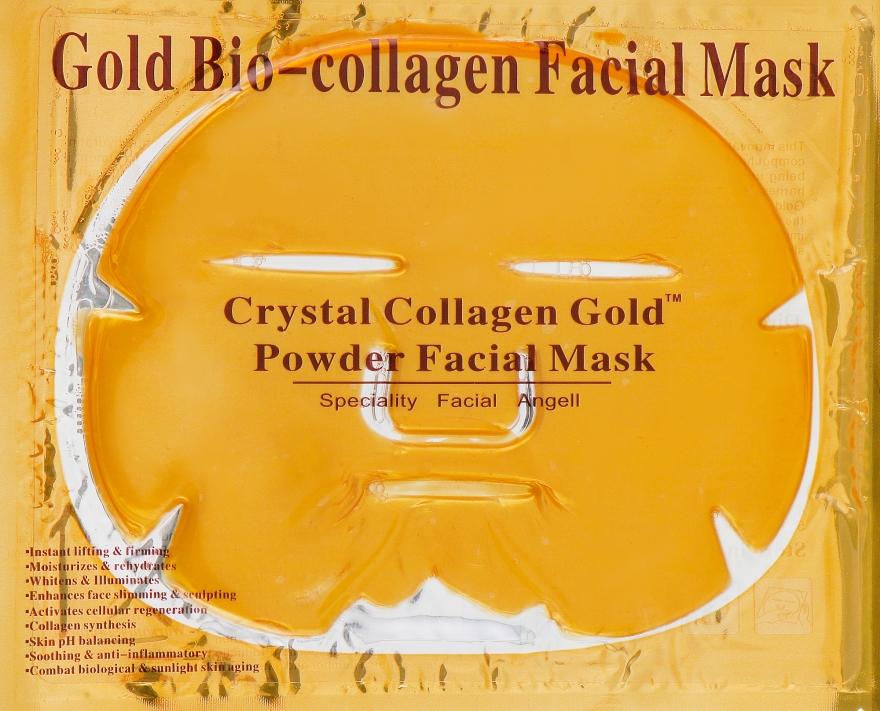 """Маска для лица с коллагеном """"Золотая"""" - Beauty Line Gold Bio-Collagen Facial Mask — фото N1"""