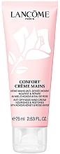 Духи, Парфюмерия, косметика Крем для увлажнения и восстановления кожи рук с экстрактом мёда акации и розовой водой - Lancome Confort
