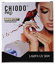 Парфумерія, косметика Лампа для манікюру - Chiodo Pro UV 36W