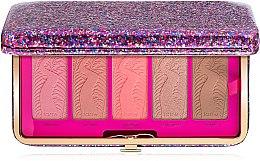 Парфумерія, косметика Палетка рум'ян і контуринг у клатчі - Tarte Life Of The Party Clay Blush Palette & Clutch