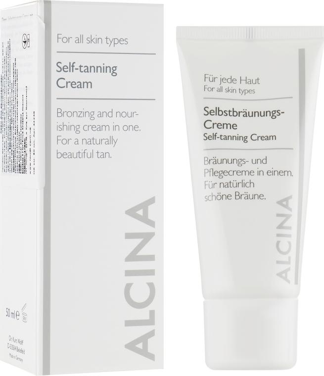 Крем для автозагара - Alcina Cream