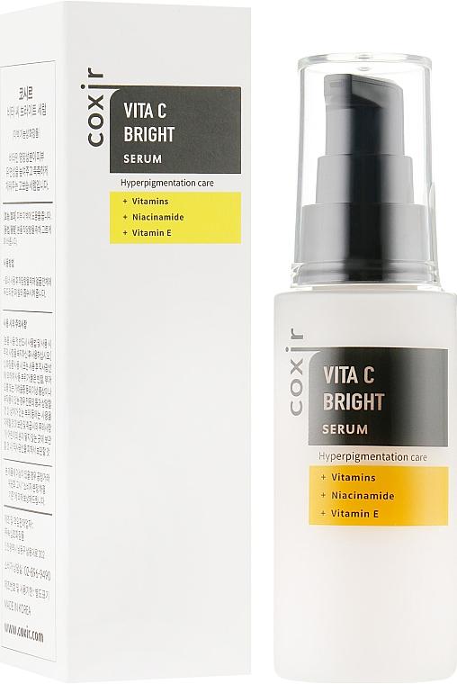 Сыворотка для лица с витаминным комплексом - Coxir Vita C Bright Serum
