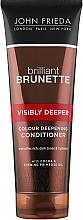Парфумерія, косметика Кондиціонер для темного волосся - John Frieda Brilliant Brunette Visibly Deeper Conditioner