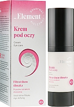 Духи, Парфюмерия, косметика Крем для кожи вокруг глаз с муцином улитки - _Element Snail Slime Filtrate Eye Cream