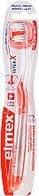 Духи, Парфюмерия, косметика Мягкая зубная щетка, прозрачная с оранжевым - Elmex Toothbrush Caries Protection InterX Soft Short Head