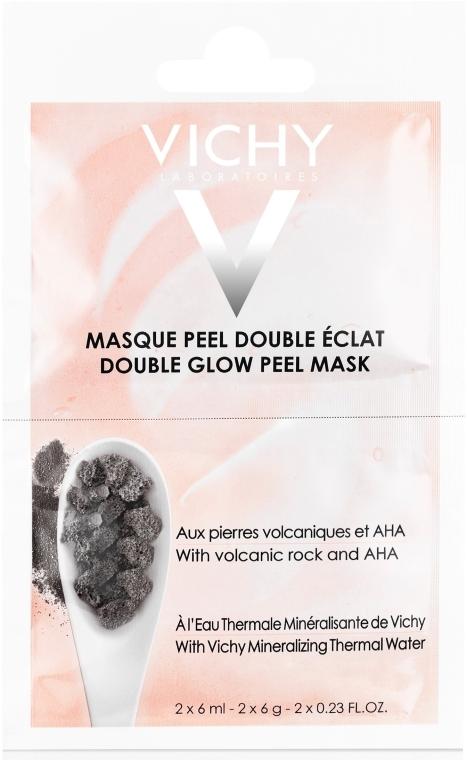 """Минеральная маска-пилинг """"Двойное сияние"""" - Vichy Double Glow Peel Face Mask Review"""