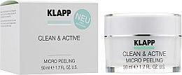 Парфумерія, косметика Базовий мікропілінг для обличчя - Klapp Clean & Active Micro Peeling