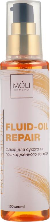 Флюид с маслом арганы и жожоба - Moli Cosmetics Fluid-Oil Repair