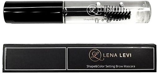 Тушь для бровей фиксирующая - BrowXenna Lena Levi Shape & Color Setting Brow Mascara