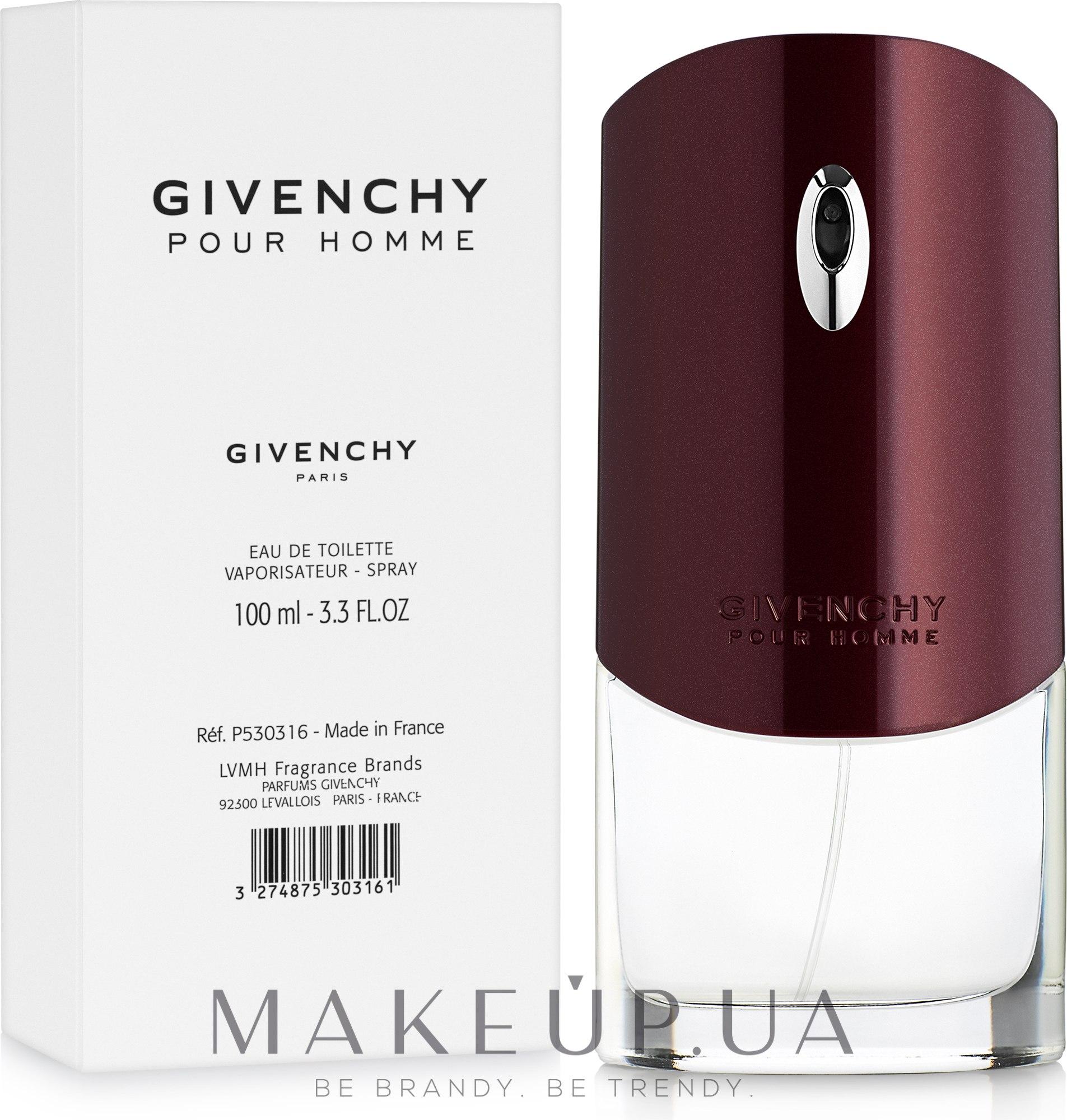 Givenchy Pour Homme - Туалетная вода (тестер) — фото 100ml