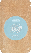 Духи, Парфюмерия, косметика Кофейный скраб, кокосовый - BodyBoom Coffee Scrub Coconut
