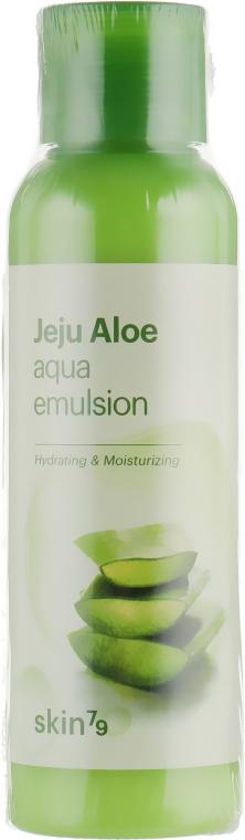 Увлажняющая эмульсия с экстрактом алоэ вера - Skin79 Jeju Aloe Aqua Emulsion