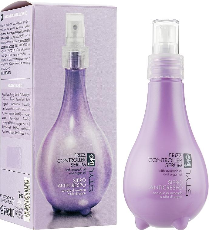 Сыворотка для непослушных и вьющихся волос - ING Professional Frizz Controller Serum