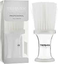 Духи, Парфюмерия, косметика Сметка прозрачная, с белой щетиной, P-002-2TR1 - Termix Professional Transparent Neck Brush White Fibers