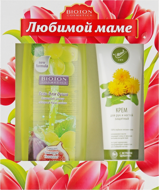 Набор - Bioton Cosmetics Nature №90 (cr/100ml + sh/gel/250ml)