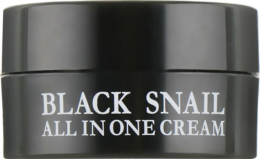 Восстанавливающий крем с черной улиткой - Eyenlip Black Snail All In One Cream (мини)