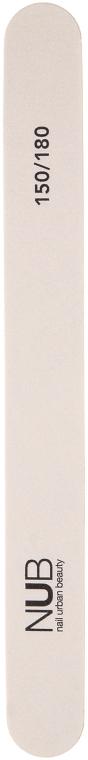 Пилка прямая для натуральных ногтей, 150/180 - NUB