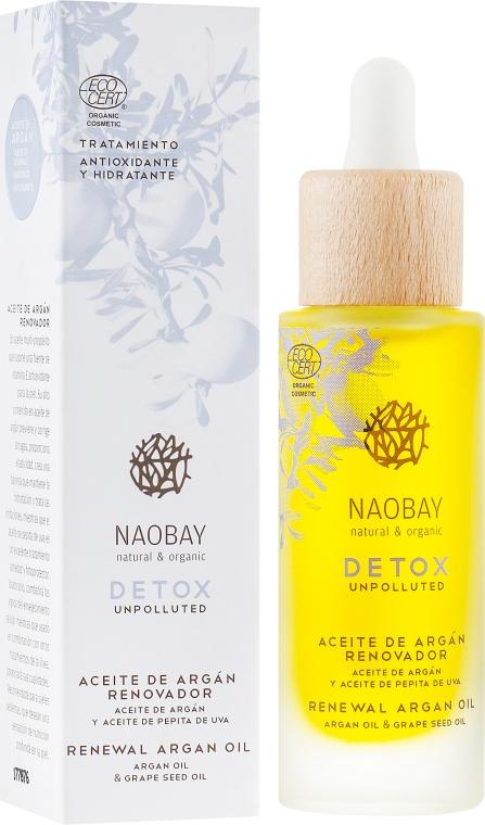 Аргановое масло - Naobay Detox Renewal Argan Oil