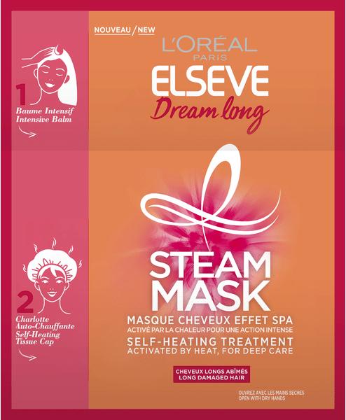 Паровая маска для волос - L'Oreal Paris Elseve Dream Long Steam Mask