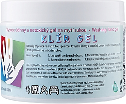 Духи, Парфюмерия, косметика Био-гель для мытья рук с пемзой и ланолином - Vridlo Klir Gel