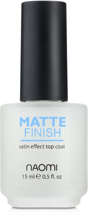 Матовое покрытие - Naomi Matte Finish — фото N1
