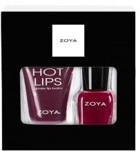 Духи, Парфюмерия, косметика Подарочный набор - Zoya Seasons Greeting (nail/7.5ml + Lip/Balm/12g)